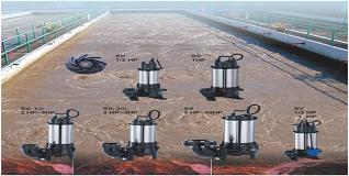 修附污物的水处理专家SV涡旋型污物泵您最佳的选择